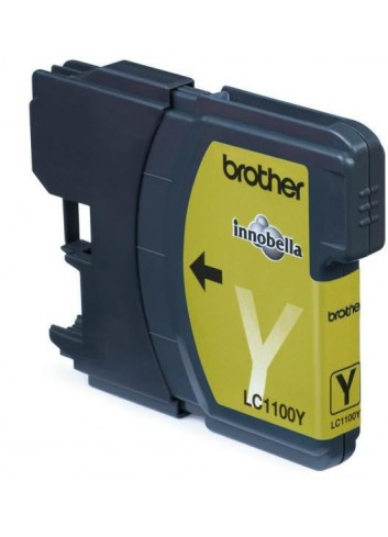 Brother originál ink LC-1100Y, yellow, 325str., Brother DCP-6690CW, MFC-6490CW