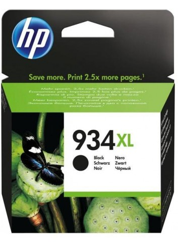 HP originál ink C2P23AE, HP 934XL, black, blister, 1000str., 25,5ml, HP Officejet 6812,6815,Officejet Pro 6230,6830,6835