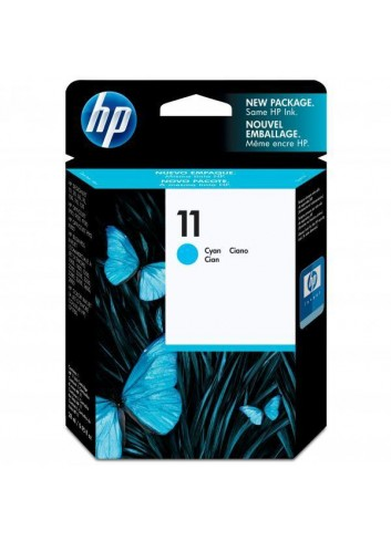 HP originál ink C4836AE, HP 11, cyan, 1750str., 28ml, HP Business InkJet 2xxx, DesignJet 100, 10PS, 20PS