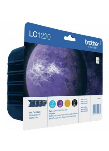 Brother originál ink LC-1220VALBP, CMYK, 4x300str., Brother DCP-J925 DW