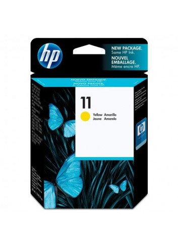 HP originál ink C4838AE, HP 11, yellow, 1750str., 28ml, HP Business InkJet 2xxx, DesignJet 100, 10PS, 20PS
