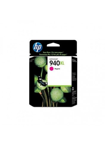 HP originál ink C4908AE, HP 940XL, magenta, 1400str., 16ml, HP Officejet Pro 8000, Pro 8500