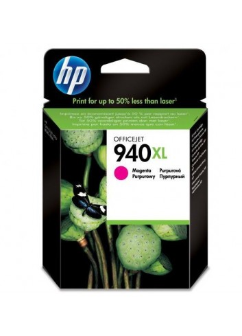 HP originál ink C4908AE, HP 940XL, magenta, blister, 1400str., 16ml, HP Officejet Pro 8000, Pro 8500