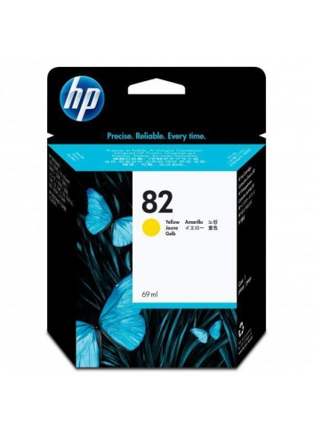 HP originál ink C4913A, HP 82, yellow, 69ml, HP DesignJet 500, PS, 800, 815, cc800ps, 4200