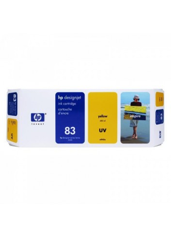 HP originál ink C4943A, HP 83, yellow, 680ml, HP DesignJet 5000, PS, UV, 5500, PS, UV