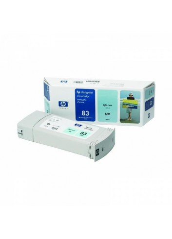 HP originál ink C4944A, HP 83, light cyan, 680ml, HP DesignJet 5000, PS, UV, 5500, PS, UV