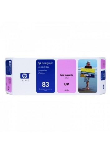 HP originál ink C4945A, HP 83, light magenta, 680ml, HP DesignJet 5000, PS, UV, 5500, PS, UV