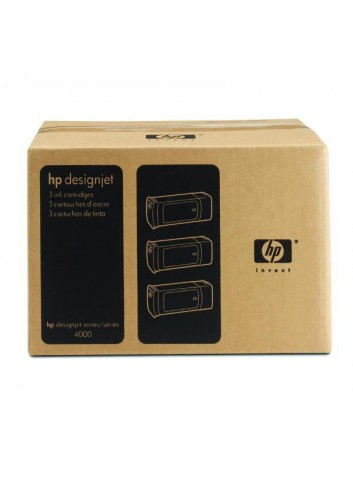 HP originál ink C5095A, HP 90, black, 3x775ml, 3ks, HP DesignJet 4000, 4000ps