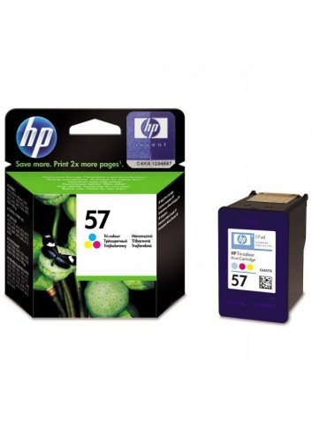 HP originál ink C6657AE, HP 57, color, 500str., 17ml, HP DeskJet 450, 5652, 5150, 5850, psc-7150, OJ-6110