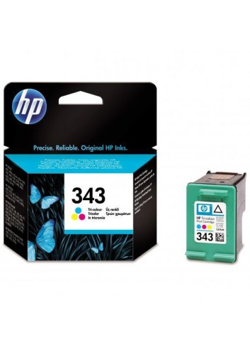 HP originál ink C8766EE, HP 343, color, 260str., 7ml, HP Photosmart 325, 375, OJ-6210, DeskJet 5740,5740xi