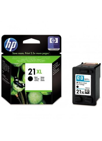 HP originál ink C9351CE, HP 21XL, black, 475str., 12ml, HP PSC-1410, DeskJet F380, OJ-4300, Deskjet F2300