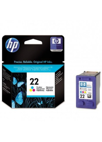 HP originál ink C9352AE, HP 22, color, 138str., 5ml, HP PSC-1410, DeskJet F380, D2300, OJ-4300, 5600