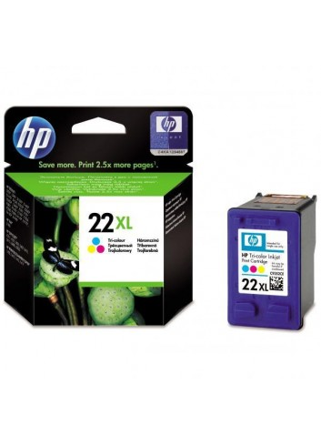 HP originál ink C9352CE, HP 22XL, color, 415str., 11ml, HP PSC-1410, DeskJet F380, D2300, OJ-4300, 5600