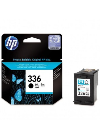 HP originál ink C9362EE, HP 336, black, 210str., 5ml, HP Photosmart 325, 375, 8150, C3180, DJ-5740, 6540
