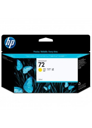 HP originál ink C9373A, HP 72, yellow, 130ml, HP Designjet T1100, T770