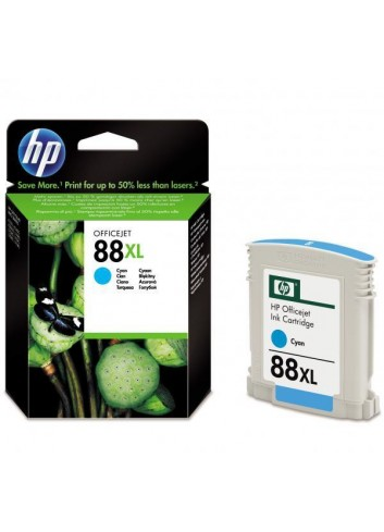 HP originál ink C9391AE, HP 88XL, cyan, 1200str., 17,1ml, HP OfficeJet Pro K5400, L7580, L7680, L7780