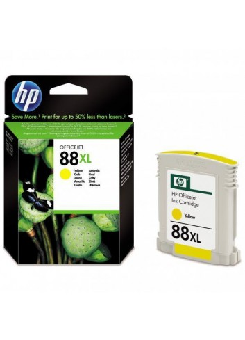HP originál ink C9393AE, HP 88XL, yellow, 1200str., 17,1ml, HP OfficeJet Pro K5400, L7580, L7680, L7780
