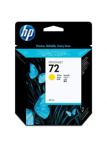 HP originál ink C9400A, HP 72, yellow, 69ml, HP Designjet T1100, T770