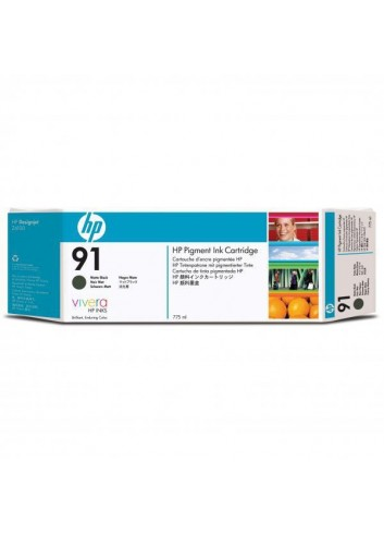 HP originál ink C9464A, HP 91, matte black, 775ml, HP Designjet Z6100