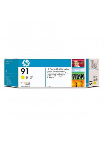 HP originál ink C9469A, HP 91, yellow, 775ml, HP Designjet Z6100