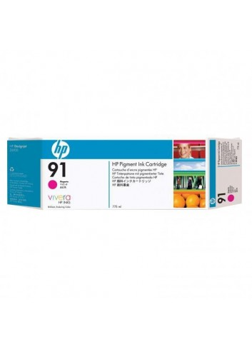 HP originál ink C9484A, HP 91, magenta, 775ml, 3ks, HP Designjet Z6100, Designjet Z6100ps
