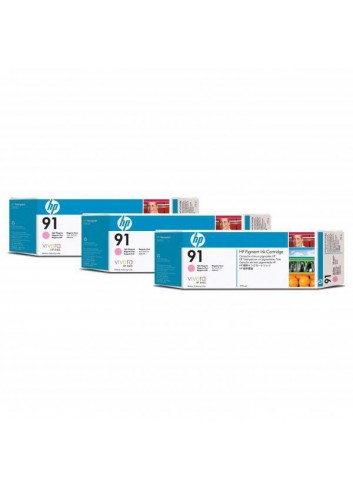 HP originál ink C9487A, HP 91, light magenta, 775ml, 3ks, HP Designjet Z6100, Designjet Z6100ps