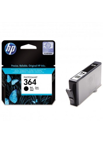 HP originál ink CB316EE, HP 364, black, blister, 250str., HP Photosmart B8550, C5380, D5460