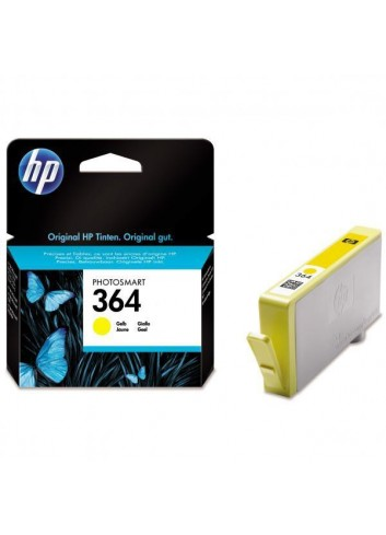 HP originál ink CB320EE, HP 364, yellow, blister, 300str., HP Photosmart B8550, C5380, D5460