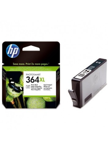 HP originál ink CB322EE, HP 364XL, photo black, 290str., HP Photosmart B8550, C5380, D5460