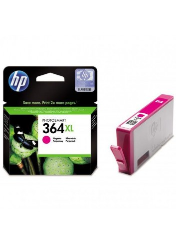 HP originál ink CB324EE, HP 364XL, magenta, 750str., HP Photosmart B8550, C5380, D5460