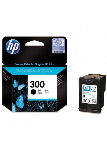 HP originál ink CC640EE, HP 300, black, blister, 200str., 4ml, HP DeskJet D2560, F4280, F4500