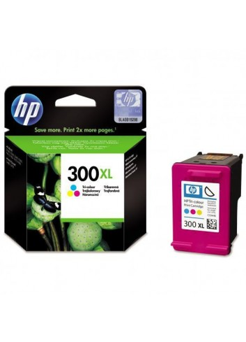 HP originál ink CC644EE, HP 300XL, color, 440str., 11ml, HP DeskJet D2560, F4280, F4500