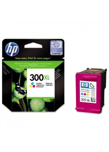 HP originál ink CC644EE, HP 300XL, color, blister, 440str., 11ml, HP DeskJet D2560, F4280, F4500