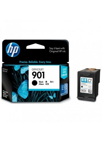 HP originál ink CC653AE, HP 901, black, 200str., 4ml, HP OfficeJet J4580