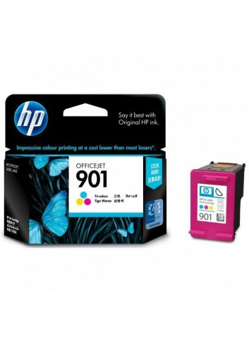 HP originál ink CC656AE, HP 901, color, blister, 360str., 9ml, HP OfficeJet J4580