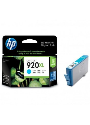 HP originál ink CD972AE, HP 920XL, cyan, 700str., HP Officejet