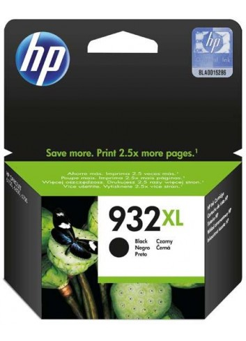 HP originál ink CN053AE, HP 932XL, black, 1000str., HP Officejet 6100, 6600, 6700, 7110, 7610, 7510