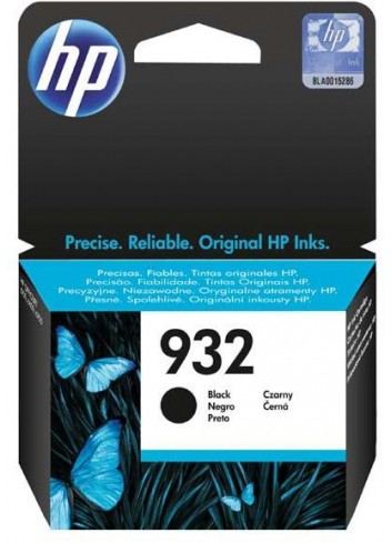 HP originál ink CN057AE, HP 932, black, 400str., HP Officejet 6100, 6600, 6700, 7110, 7610, 7510
