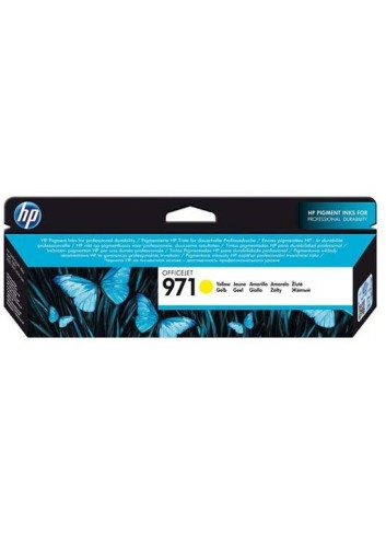 HP originál ink CN624AE, yellow, 2500str., HP 971, HP Officejet Pro X451dn, X451dw, X476dn MFP, X476dw