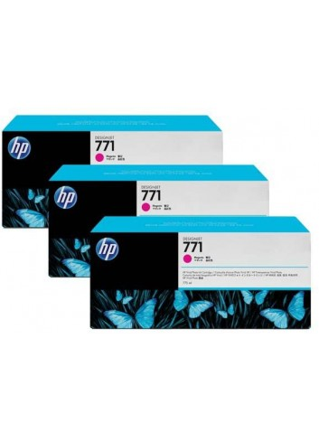 HP originál ink CR252A, magenta, 3x775ml, HP 771, HP 3-Pack, Designjet Z6200