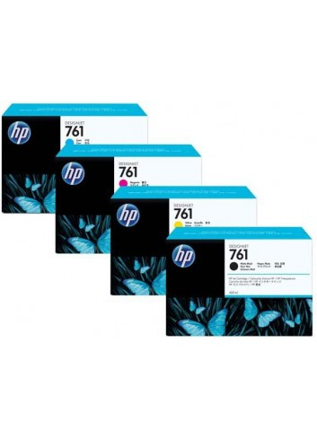 HP originál ink CR271, magenta, 3x400ml, HP 761, HP 3-Pack, DesignJet T7100