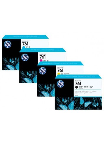 HP originál ink CR273A, grey, 3x400ml, HP 761, HP 3-Pack, DesignJet T7100