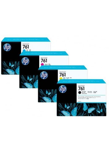 HP originál ink CR275A, matte black, 3x775ml, HP 761, HP 3-Pack, DesignJet T7100