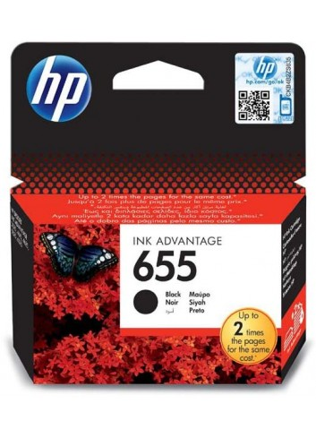 HP originál ink CZ109AE, HP 655, black, 550str., HP Deskjet Ink Advantage 3525, 5525, 6525, 4615 e-AiO