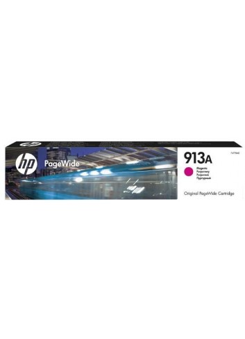 HP originál ink F6T78AE, HP 913A, magenta, 3000str., 35.5ml, HP PageWide 325, 377, Pro 452, Pro 477