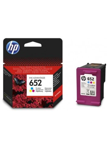 HP originál ink F6V24AE, HP 652, color, blister, 200str., HP Deskjet IA 4535, 4675, 1115, 2135, 3635, 3835