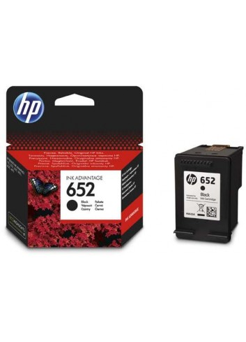 HP originál ink F6V25AE, HP 652, black, 360str., HP DeskJet IA 4530, 4535, 4675, 1115, 2135, 3635