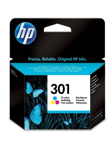 HP originál ink CH562EE, HP 301, color, 165str., HP HP Deskjet 1000, 1050, 2050, 3000, 3050