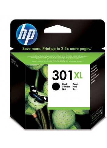 HP originál ink CH563EE, HP 301XL, black, blister, 480str., HP HP Deskjet 1000, 1050, 2050, 3000, 3050