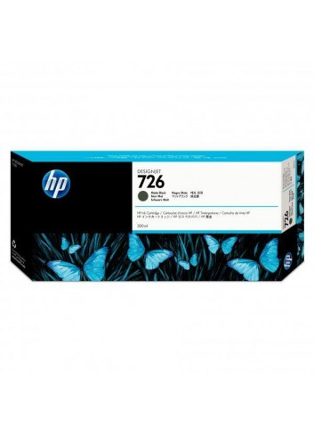 HP originál ink CH575A, HP 726, matte black, 300ml, HP HP DesignJet T1200